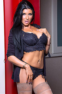 Watch sexy milf, Romi Rain, in an escort scene